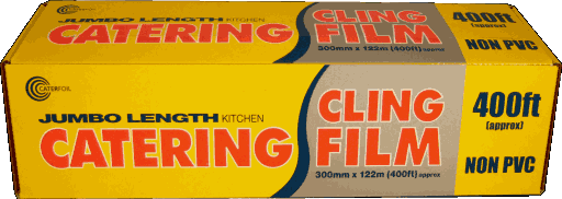 Catering Cling Film 400ft/122mtr